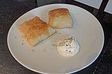 Deftig gefüllte Pfannkuchen auf russische Art
