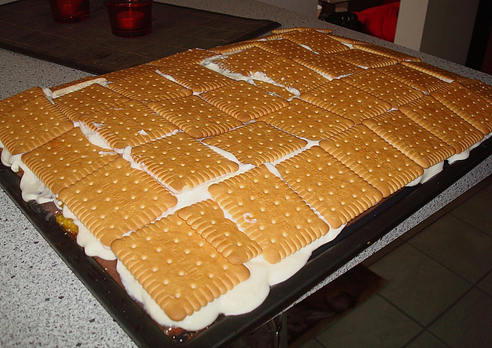 Keks schmand kuchen