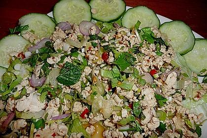 Laab Gai - Thailändischer Hähnchensalat 2