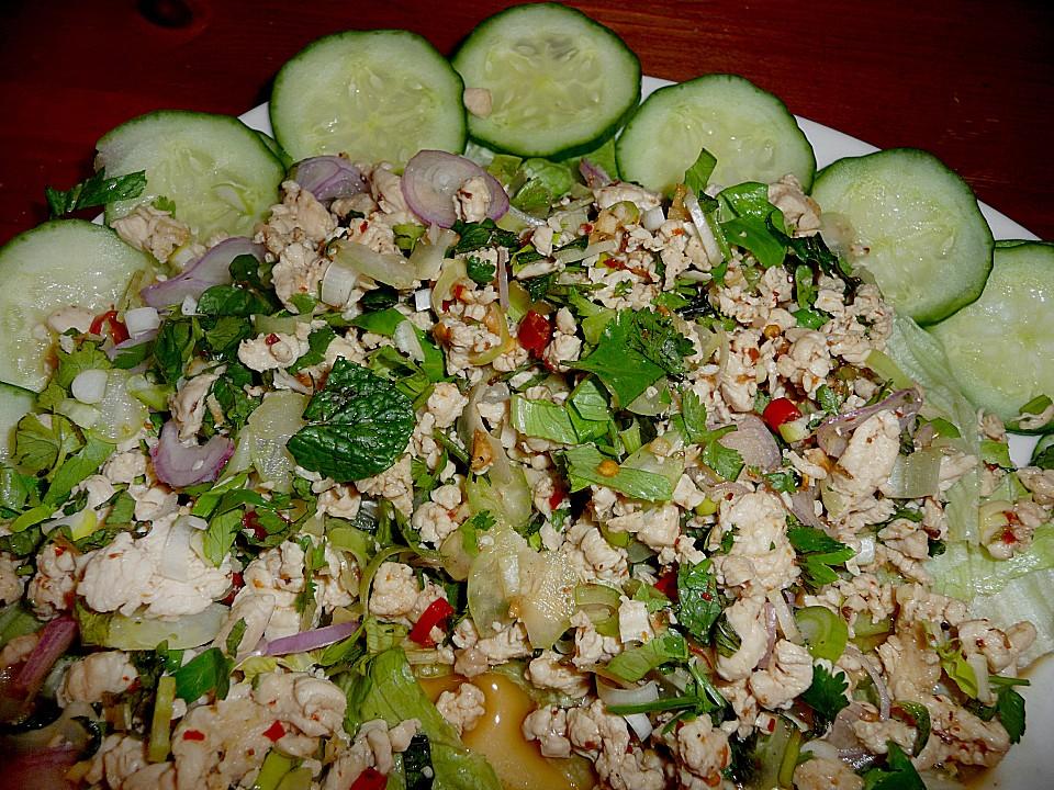 Hahnchen salat turkisch