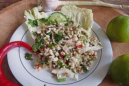 Laab Gai - Thailändischer Hähnchensalat 4