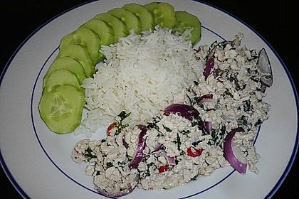Laab Gai - Thailändischer Hähnchensalat 9
