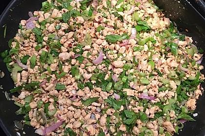 Laab Gai - Thailändischer Hähnchensalat 8