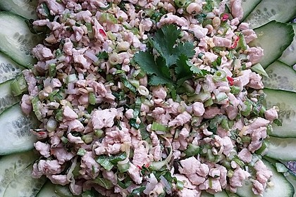 Laab Gai - Thailändischer Hähnchensalat 7