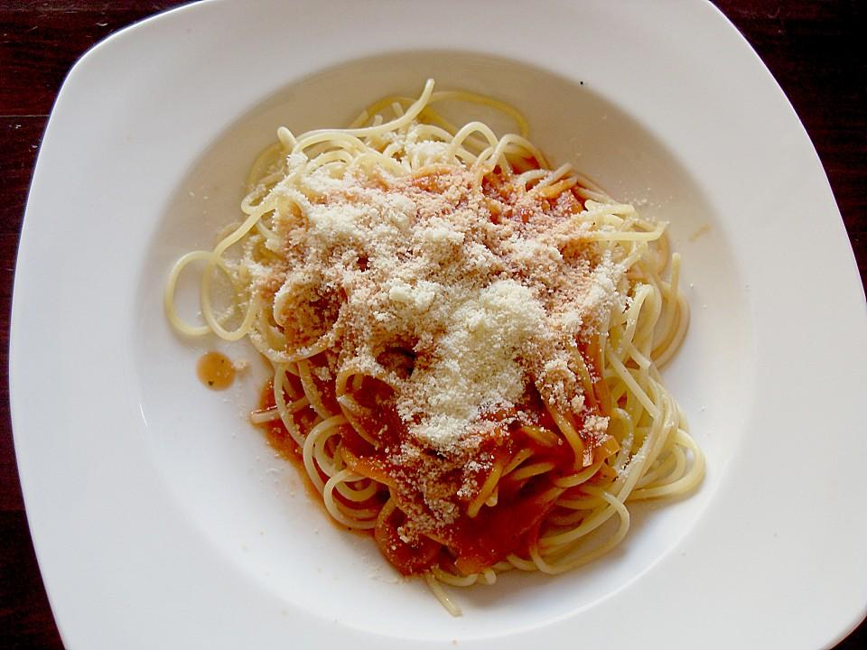 schnelle einfache tomatenso e zu spaghetti von maja72. Black Bedroom Furniture Sets. Home Design Ideas