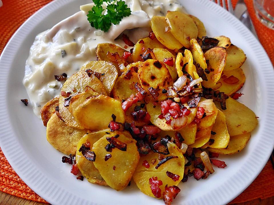 bratkartoffeln wurzig mit speck und zwiebel 4