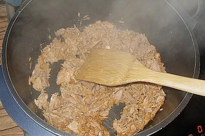 Thunfisch - Rahmsoße zu Spaghetti 3