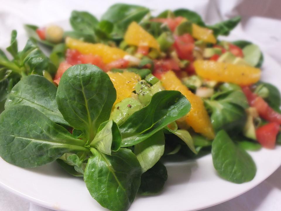 avocado salat rezept mit bild von cremant. Black Bedroom Furniture Sets. Home Design Ideas
