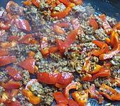 Paprika - Hackfleisch - Pfanne