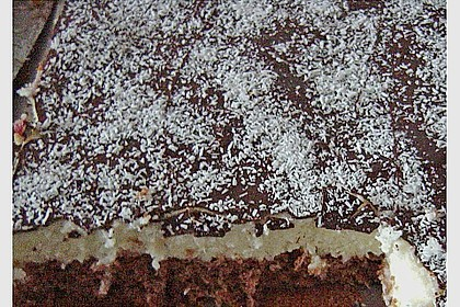 Schoko - Grieß - Sahne - Kokos - Kuchen 14