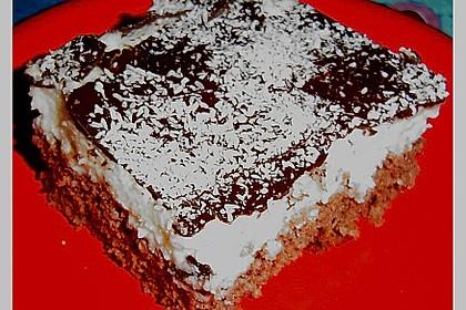 Schoko - Grieß - Sahne - Kokos - Kuchen 12