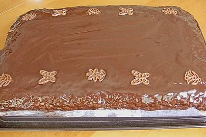 Schoko - Grieß - Sahne - Kokos - Kuchen 5