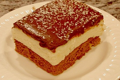 Schoko - Grieß - Sahne - Kokos - Kuchen 1