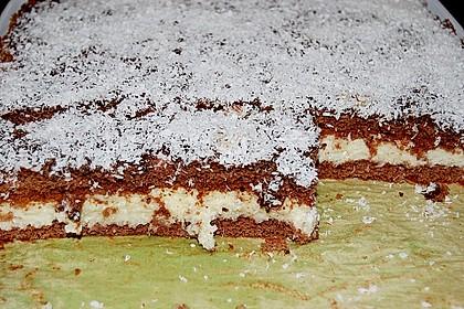 Schoko - Grieß - Sahne - Kokos - Kuchen 0