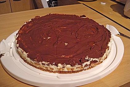 Schoko - Grieß - Sahne - Kokos - Kuchen 11