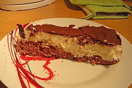Schoko - Grieß - Sahne - Kokos - Kuchen 10