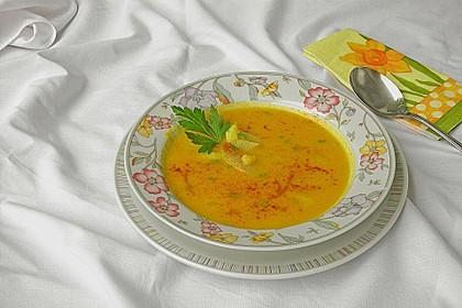 Steckrüben - Kohlrabi - Kokosmilch - Currysuppe mit Hähnchen