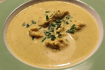 Steckrüben - Kohlrabi - Kokosmilch - Currysuppe mit Hähnchen 1