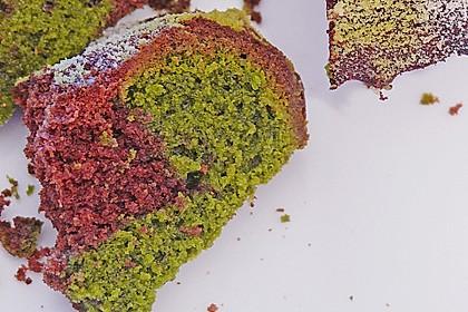 Marmorierter Matcha-Tee - Schokoladenkuchen 5