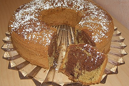 Marmorierter Matcha-Tee - Schokoladenkuchen 11