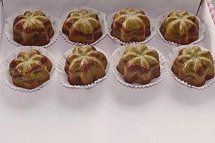 Marmorierter Matcha-Tee - Schokoladenkuchen 3