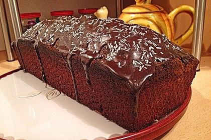 Marmorierter Matcha-Tee - Schokoladenkuchen 10