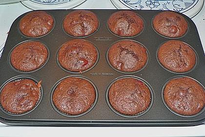 Schoko - Kirsch - Muffins 58