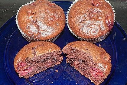 Schoko - Kirsch - Muffins 55