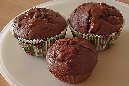 Schoko - Kirsch - Muffins 20