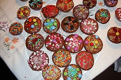 Schoko - Kirsch - Muffins 16