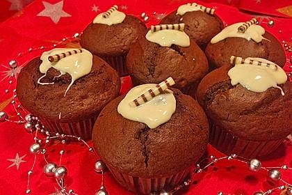 Schoko - Kirsch - Muffins 5