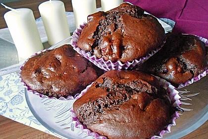 Schoko - Kirsch - Muffins 18