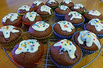 Schoko - Kirsch - Muffins 31