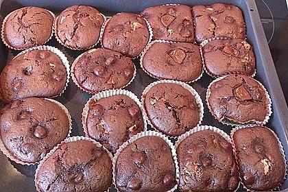 Schoko - Kirsch - Muffins 50