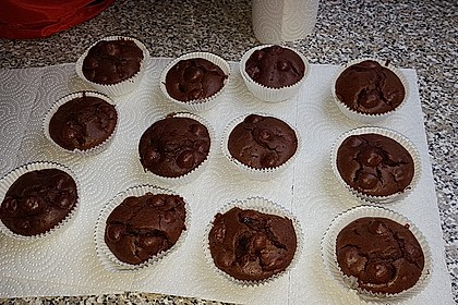 Schoko - Kirsch - Muffins 32