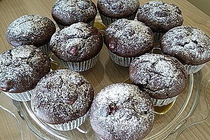 Schoko - Kirsch - Muffins 22