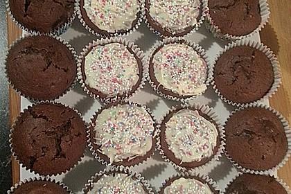 Schoko - Kirsch - Muffins 43