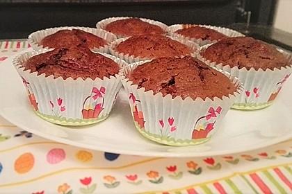 Schoko - Kirsch - Muffins 25