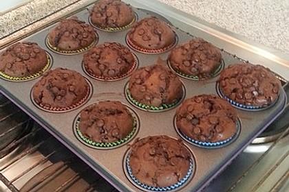 Schoko - Kirsch - Muffins 9