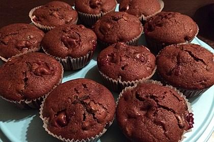Schoko - Kirsch - Muffins 42