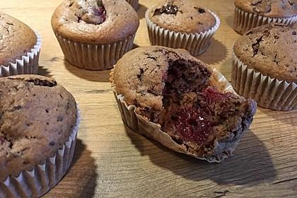 Schoko - Kirsch - Muffins 17