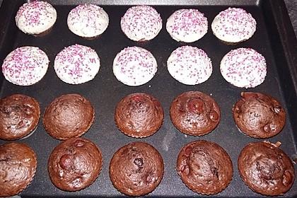 Schoko - Kirsch - Muffins 48