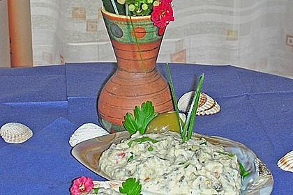 Griechische Auberginenpaste 13
