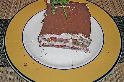 Vanillemousse - Tiramisu mit Beeren 10