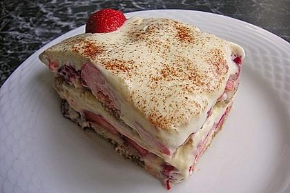 Vanillemousse - Tiramisu mit Beeren 2