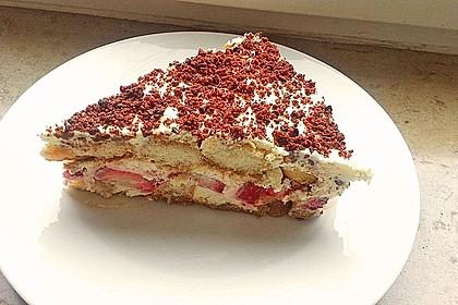 Vanillemousse - Tiramisu mit Beeren 5
