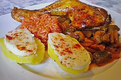 Mozzarella - Kartoffeln 1
