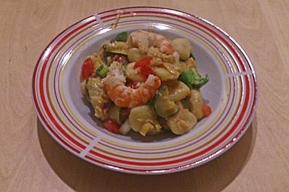 Gnocchi - Salat