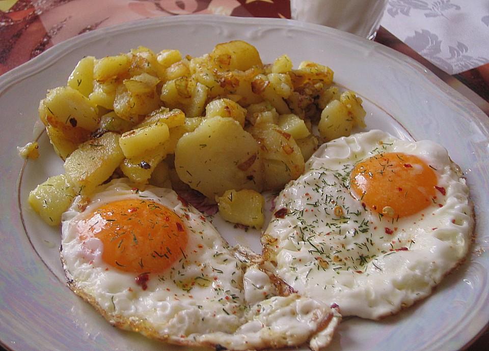 Spiegeleier Mit Bratkartoffeln — Rezepte Suchen