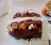 Gefüllter Schokoladen - Biskuit (Bild)